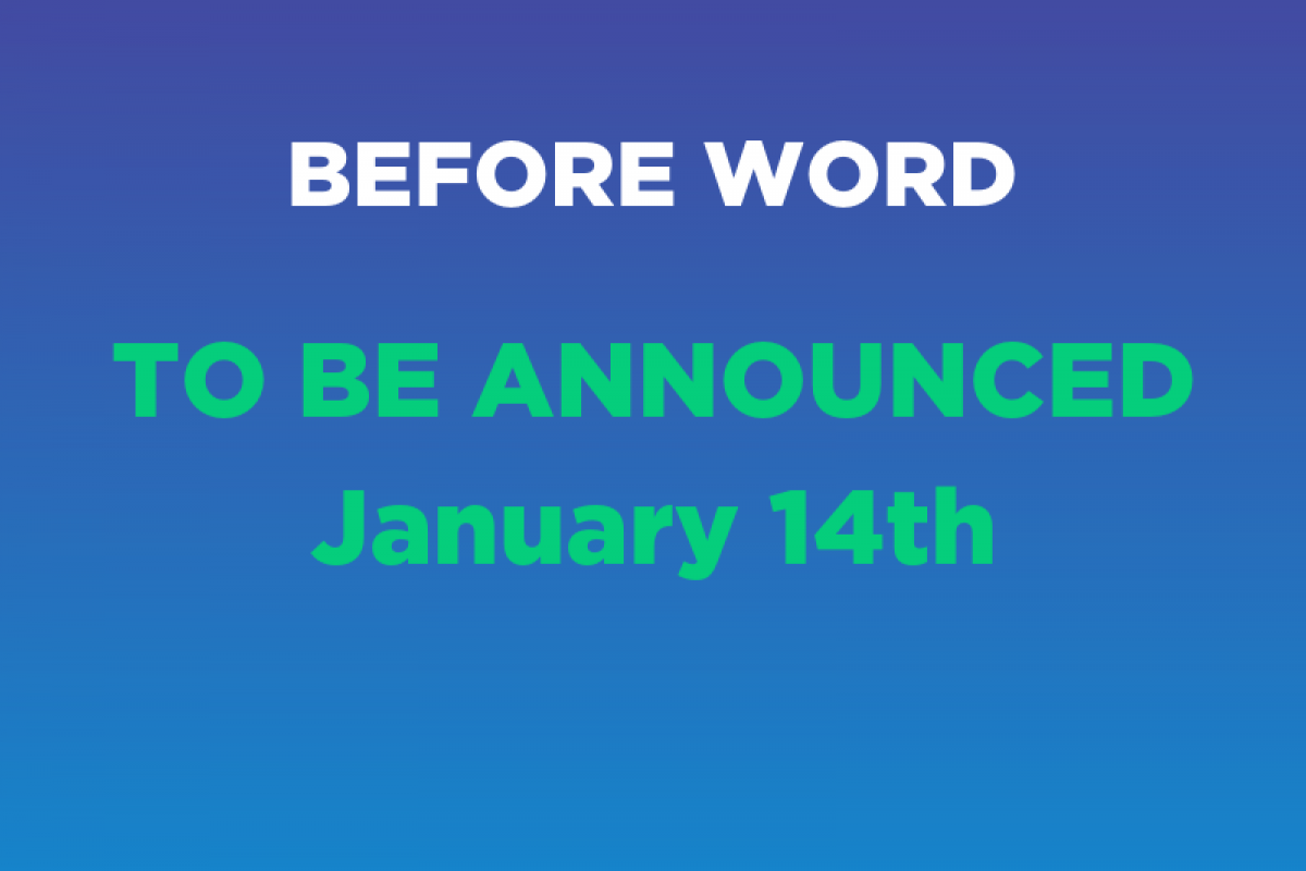 BEFORE CODE WORD