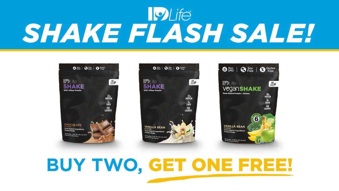 Flash Sale: Buy 2 Get 1 Free – SHAKE Bags 02/2018