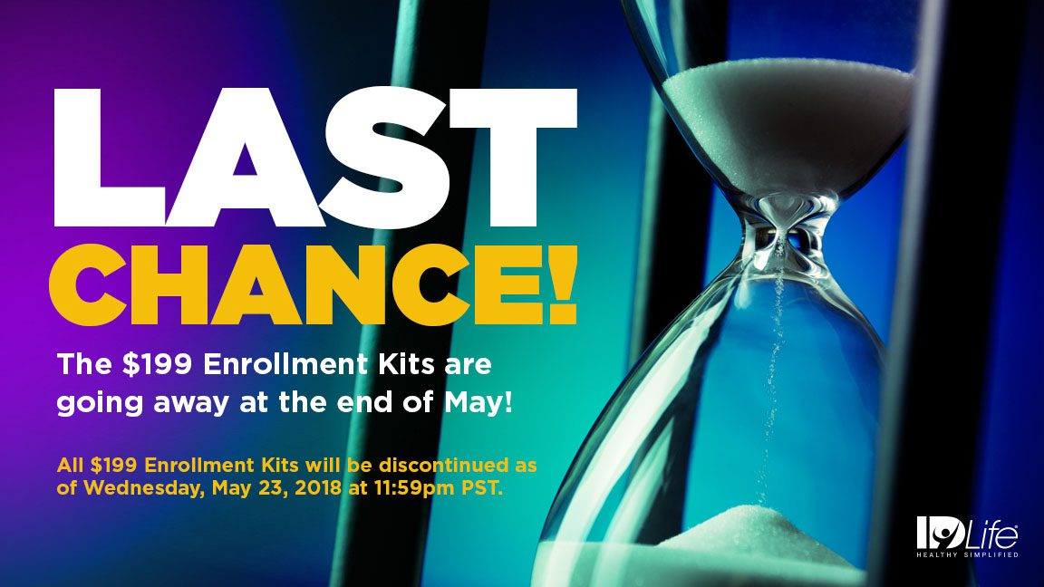 Last Chance: $199 Enrollment Kits!