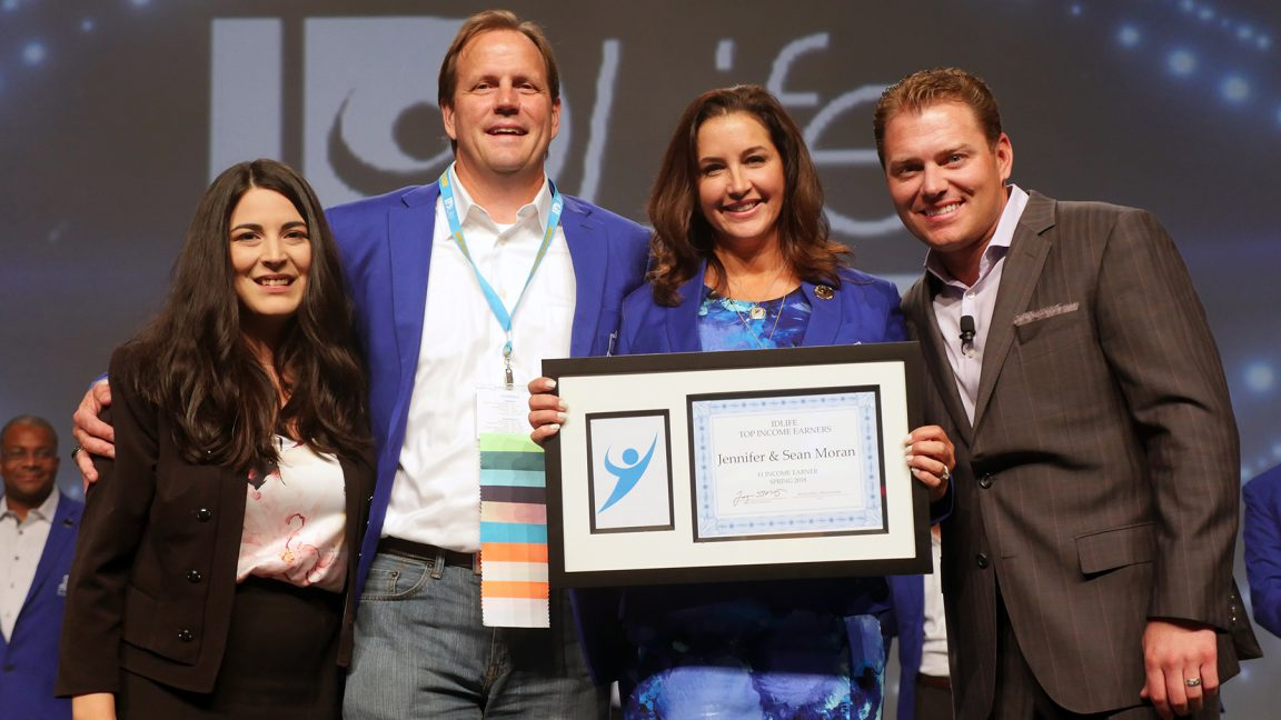 #1 Income Earner: Jennifer & Sean Moran