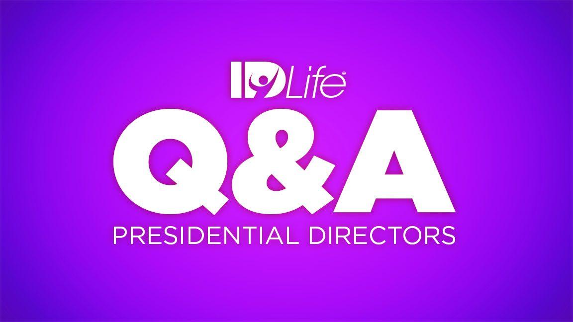 Q&A Presidential Directors