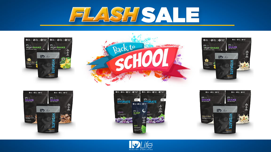 Back to School Flash Sale!