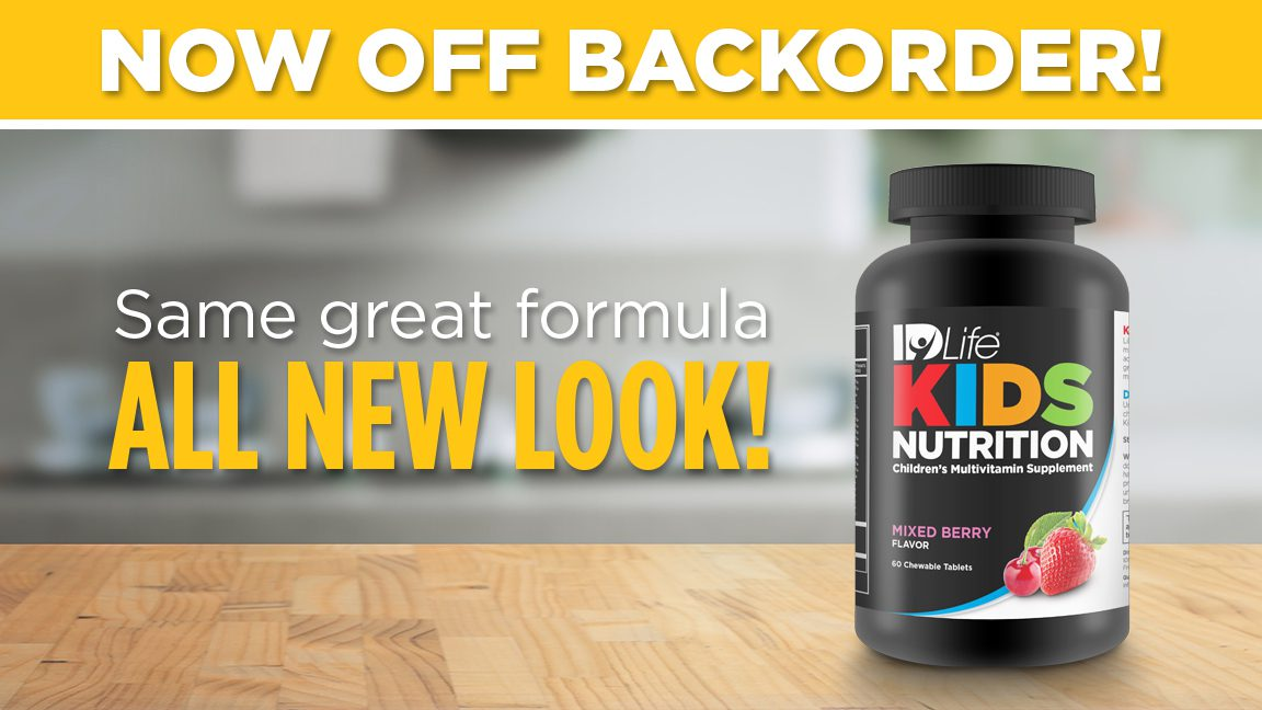 Kids Nutrition Back in Stock