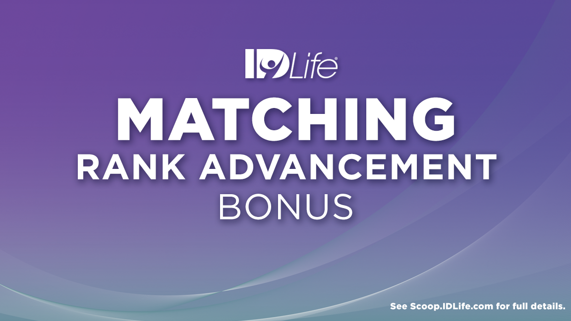 Matching Rank Advancement Bonus