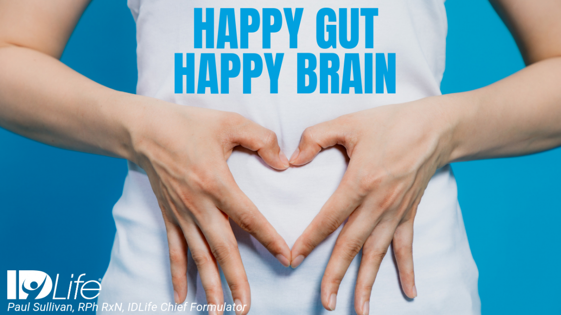 Happy Gut, Happy Brain