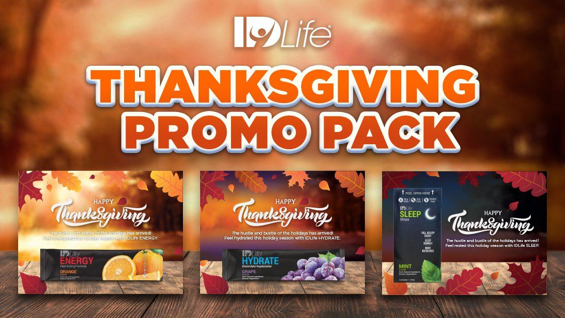 Thanksgiving Promo Packs