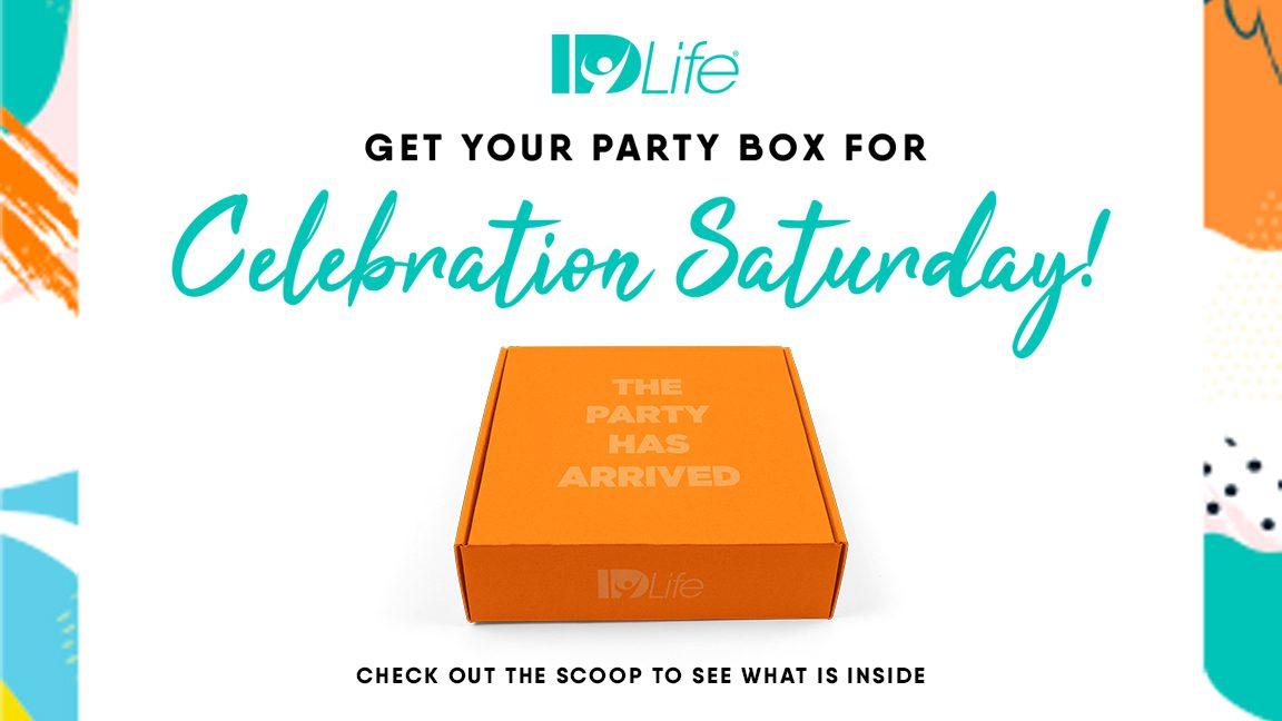 Celebration Saturday Party Box