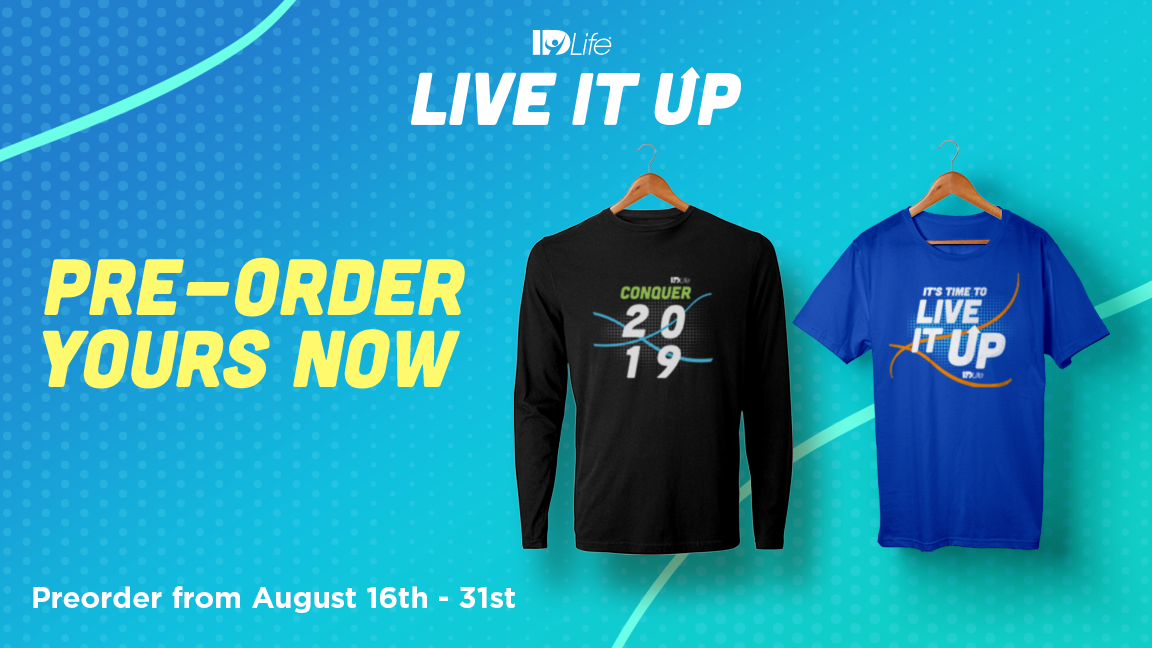 Pre-Order your LIU T-shirt Today!