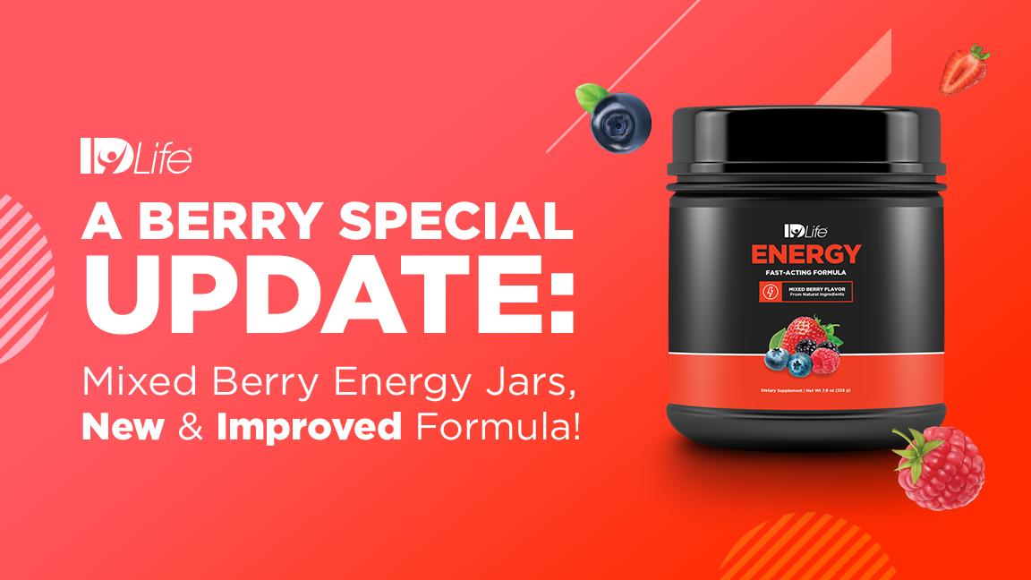 New Berry Energy Jars!