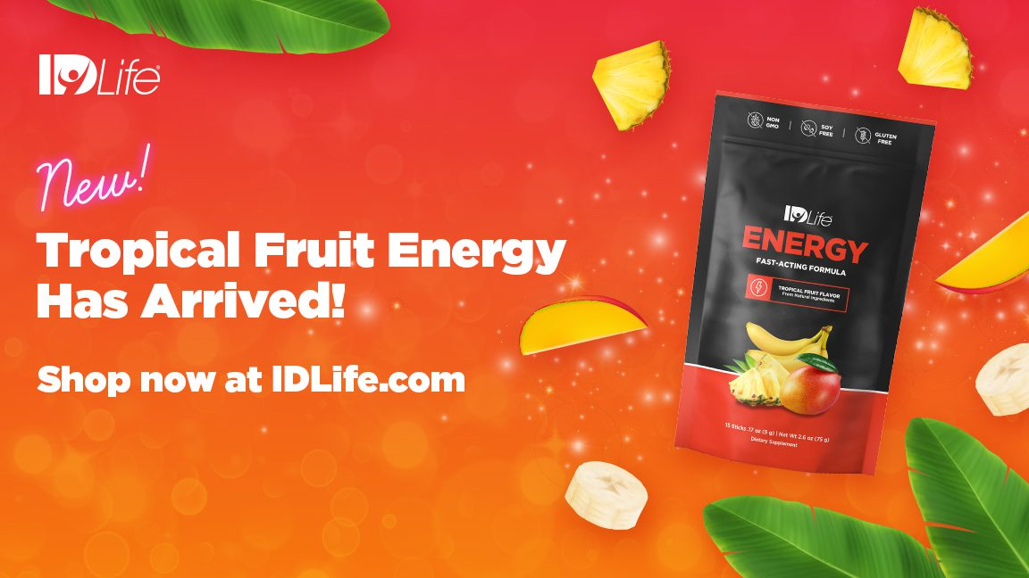 NEW Tropical Fruit Energy has arrived!!😋