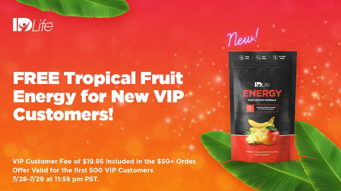 🍍FREE Tropical Fruit Energy for New VIP Customers!🍍