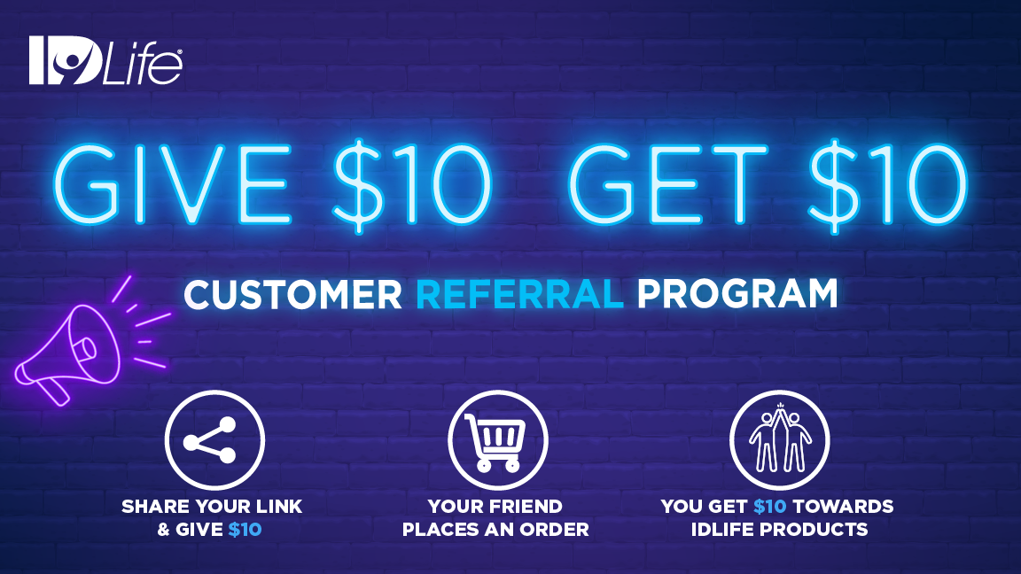 Customer Referral Rewards: UPGRADE! Give $10 GET $10!