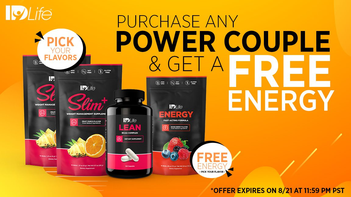⚡️ Power up with FREE Energy! ⚡️