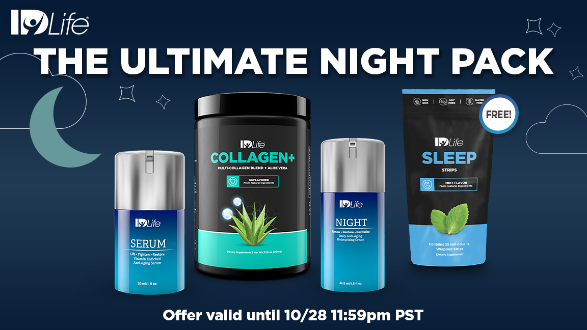 NEW Night Cream & FREE Sleep Strips!