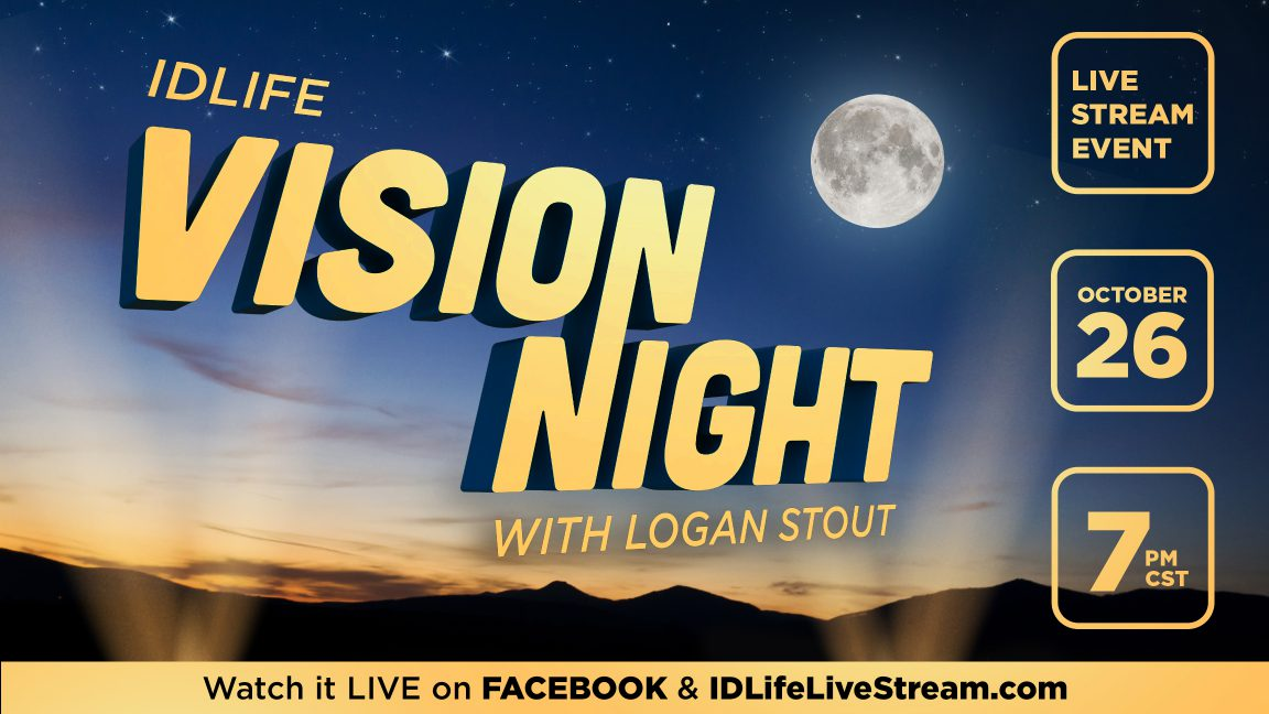 Vision Night with Founder & CEO, Logan Stout! 🎉