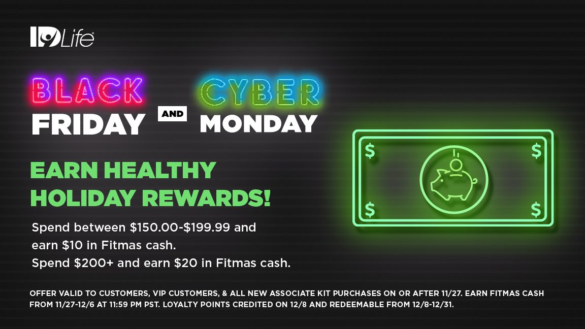 Black Friday FITmas Cash!