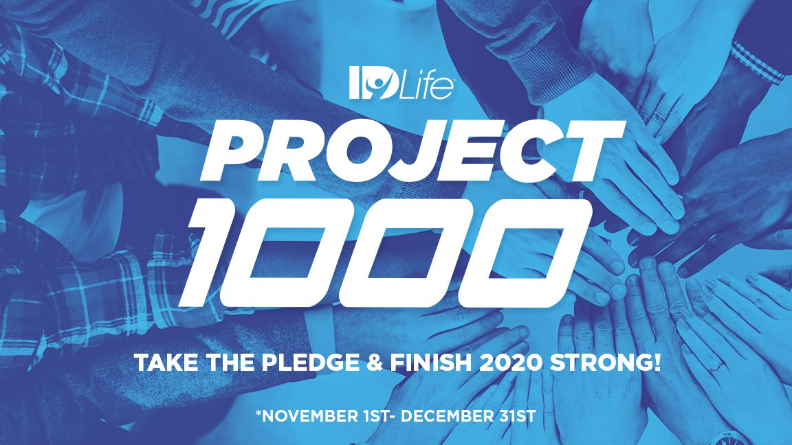 Project 1,000: Take the Pledge!