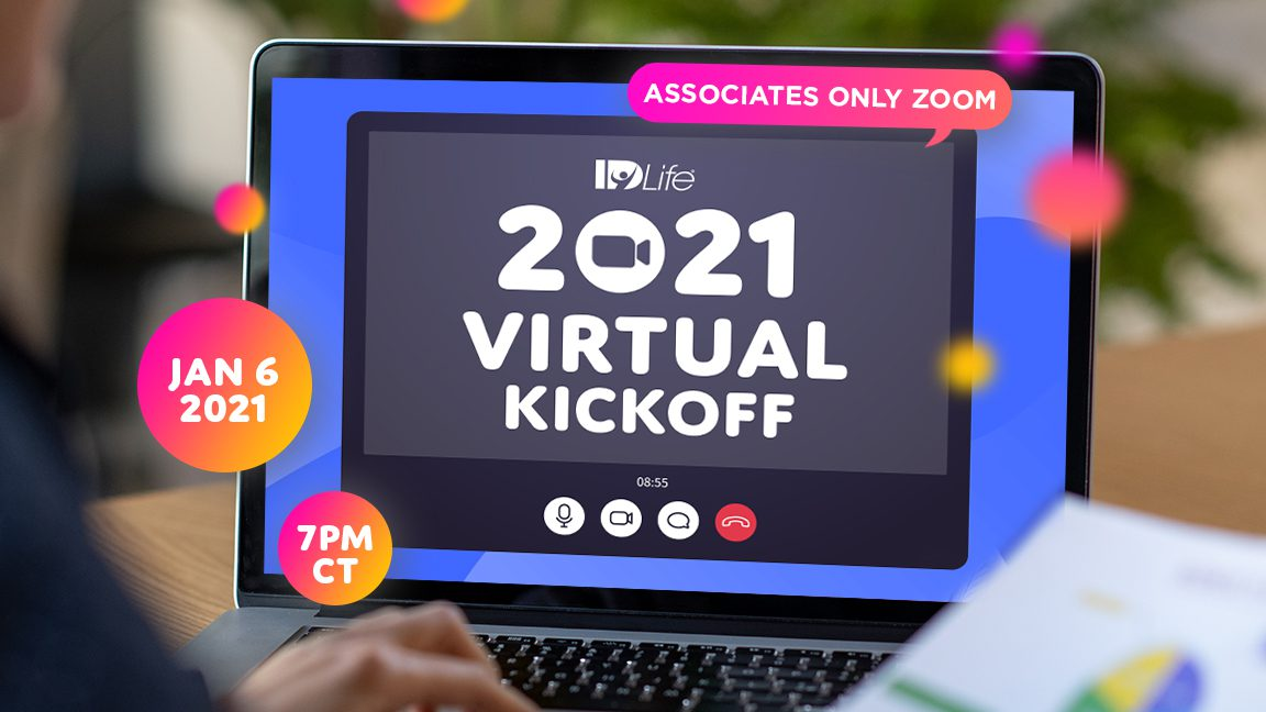 Save the date: 2021 Virtual Kickoff!