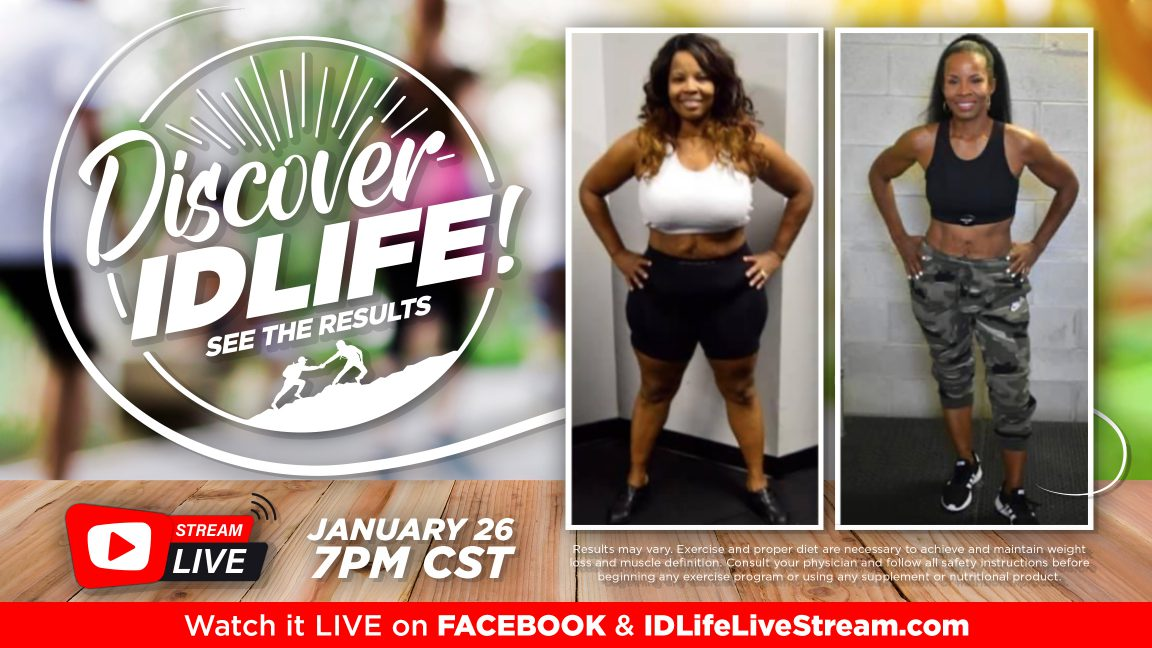 Join us for Discover IDLife!